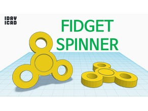 [1DAY_1CAD] FIDGET SPINNER