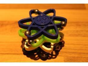 Atom Fidget Spinner Toy - Hand Spin Focus