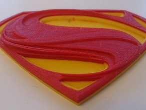 Man of Steel logo (Dual Extrusion)