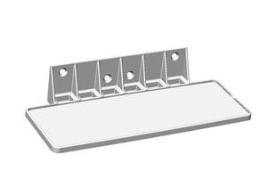 Stereo Shelf Fits Bose Soundlink Mini for under cabinet