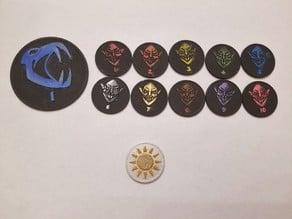 Token Coins for D&D