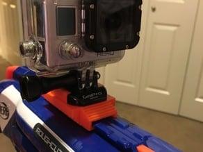 Nerf Gun GoPro Mount