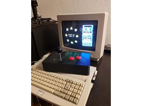 Arcade Stick for 8 bits computer