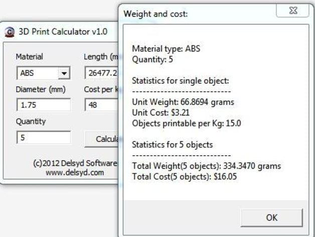 material estimator model 4019 manual