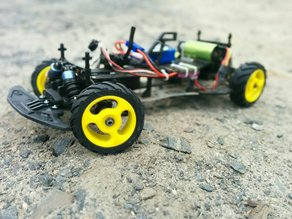 1/10 Scale Low Speed Off-Road RC Wheel & Tire