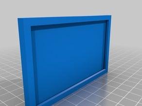 Buisness Card Wall Frame W/ Easy-to-install Bracket