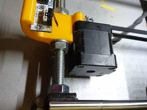 All-in-one Prusa i3 rework Y motor holder