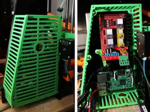 Modular Anet A8 RAMPS 1.4 + Raspberry Pi 2/3 Case