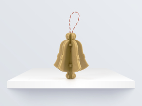 CHRISTMAS ORNAMENT: BELL BY BQ