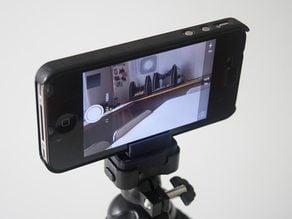 IPhone4 holder for flexible mini tripod