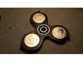 Deadly (not) Fidget Spinner for US Quarters