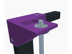 Top Right Bracket with flash Bearing Insert (Inverted Z-Axis)