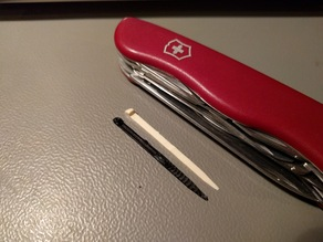 Toothpick for swiss army knife