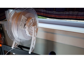 Frame mount for Universal Auto-Rewind Spool Holder on Prusa i3 mk3