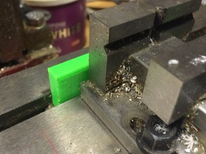 Quick align for CNC vice or blank