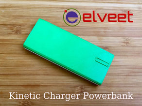 Elveet. Kinetic Charger Powerbank case