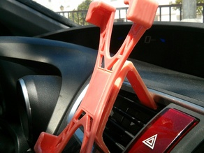 Modular car holder (Nexus 5)