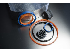 GT2  printable Belt generator
