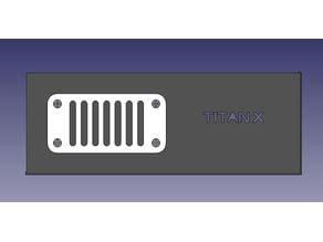 Titan X Backplate