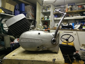 Zundapp 50cc engine