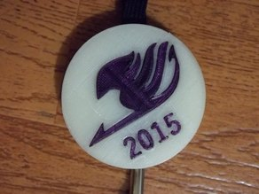 2015 Fairy Tail Lanyard Decoration