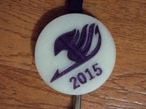 2015 Fairy Tail Lanyard Decoration