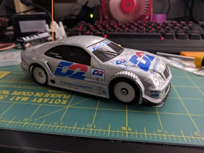 Kyosho Mini-Z DTM Mercedes Nose Clip V4