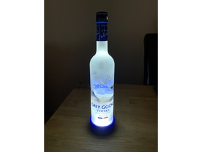 Grey Goose Vodka Illuminated LED Display Stand