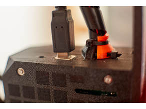 Prusa Rambo Extruder Cables Protector