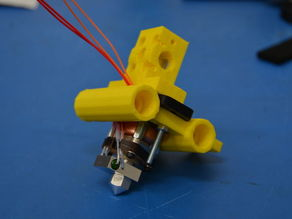 Budaschnozzle Compatible MG X-Carriage and Plastruder