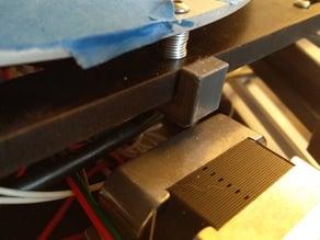 Folger Tech Kossel Rev B Bed Leveling Bracket