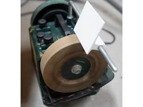 Schleifhilfe für Nassschleifmaschine / Grinding tool for wet grinding machine
