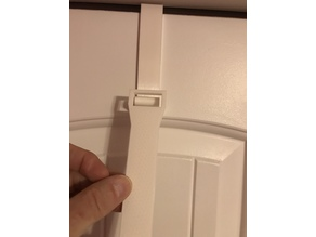 Over-the-door closet hanger
