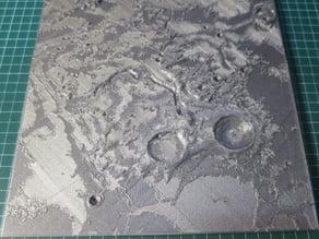 Vallis Schröteri (Schroter's Valley) on the Moon