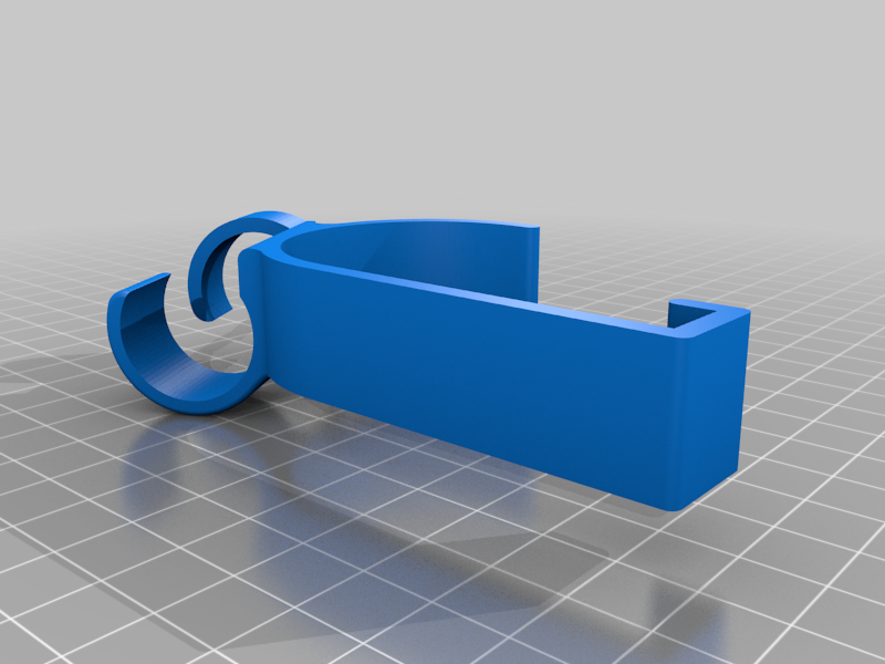 CPAP Sleigh Bed clamp with rubber band option