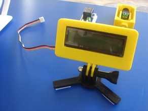 LCD Grove Case with camera mount