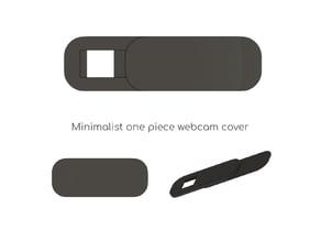 Minimalist webcam cover