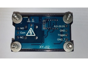 Case for delay timer relay module (housing)