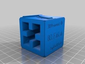 Visible 7 (foosball score cube)