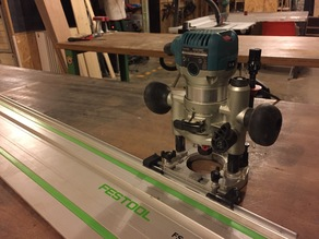 Makita Router To Festools Rail