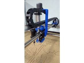 MPCNC z axis drag chain mount