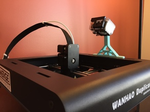 GoPro Mount for Wanhao D6/ MP Ultimate