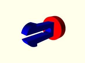customizable lasercut pin