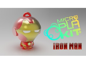 Iron Man (MicroPlaKit Series)