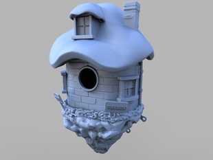 Dwarf Birdhouse