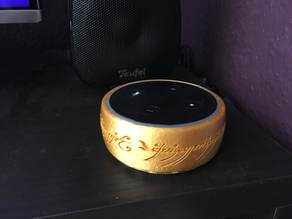 The One Ring Amazon Alexa Echo Dot 2nd Gen LotR
