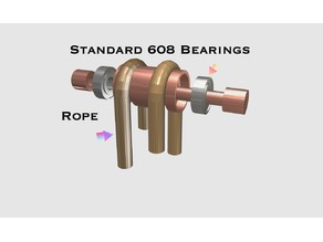 Pulley With 608 bearings