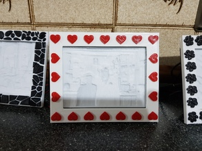 Hearts Frame For My Light Box
