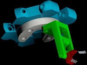 Flip Retractable Auto Level Probe for Kossel