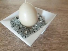 Verdrehte Dekoschale - Twisted decorative shell